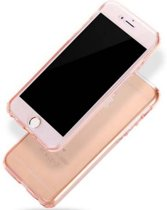 iPhone 7 Plus Full protection siliconen transparant voor 100% bescherming