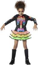 Skelet meisje rainbow