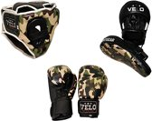 AA Products - Pro Boksen Trainig Set - Boxing Set - Camo Series - Green