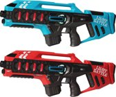 Light Battle Active geweren | Lasergame set - 1x rood en 1x blauw