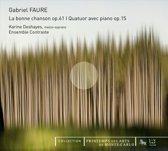 La Bonne Chanson/Quatuor Avec Piano