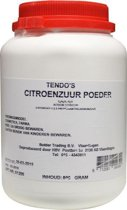 Tendo Citroenzuur Poeder - 800 gram - Voedingssupplement