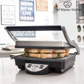 Chef Master Kitchen Panini Grill