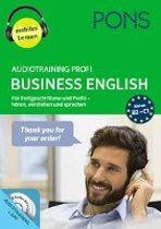 PONS Audiotraining Profi Business English