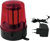 EUROLITE LED Police Light 108 LEDs red Classic