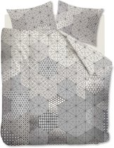 Kardol & Verstraten Honeycomb Dekbedovertrek - lits-jumeaux - 240x200/220 - Zwart