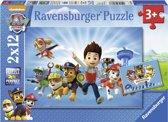 Ravensburger Paw Patrol Ryder en Paw Patrol Twee puzzels van 12 stukjes