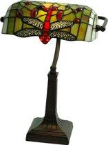 Arcade AL0062 - Bureaulamp - Tiffany lamp