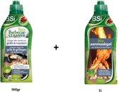 Biologische BBQ-reiniger 900gr + bio aanmaakgel 1L