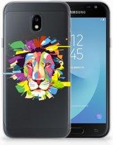 Samsung Galaxy J3 2017 Uniek TPU Hoesje Lion Color