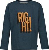 Noppies T-shirt lange mouw Benton - Midnight Navy - Maat 116