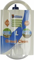 Superfish Gravel Clean L - Aquarium - Grind en Glasreiniger