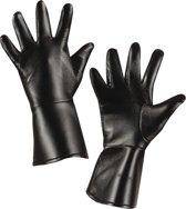 Nep leer handschoenen voor kinderen - Verkleedattribuut