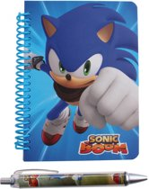 Gosh! Designs Notitieboekje Met Pen Sonic Boom Blauw A6