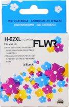 FLWR 62XL / C2P05AE zwart - geschikt voor HP