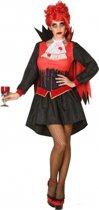 Bloederig vampier kostuum voor vrouwen - Verkleedkleding - Maat XS/S