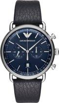 Emporio Armani horloge  - Blauw