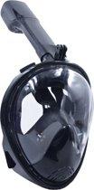 Snorkelmasker met Aansluiting voor GoPro – Maat L/XL – Zwart – Beslaat Niet