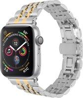 Merkloos RVS bandje - Apple Watch Series 1/2/3/4 (38&40mm) - Goud
