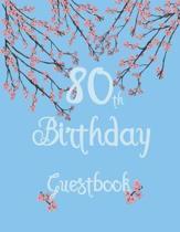 80th Birthday Guestbook