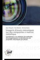 Imagerie d'Essais M�caniques Sur Des Composites � Matrice M�tallique