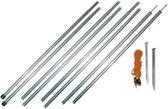 Eurotrail Luifelset Aluminium 150cm - 3 delig - 2 stuks