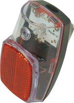 Dresco - Fietsachterlicht - LED - Met reflector - E-keur - Zwart