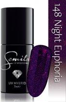 148 UV Hybrid Semilac Night Euphoria 7 ml.