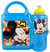 Disney Mickey Mouse  Lunch box + fles