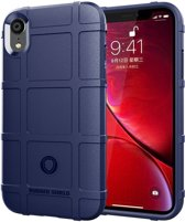 Full Coverage Shockproof TPU Case voor iPhone XR (blauw)