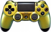 PS4, Wireless Dualshock 4 Controller V2 - Chameleon Gold Green Custom