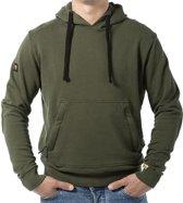 LIGER hoodie groen, limited edition van 360 stuks - Maat XXL