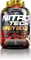 Muscletech NitroTech Whey Gold - Eiwitpoeder / Eiwitshake - 2270 gram - Cookies & Cream