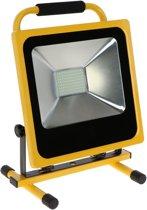 Hofftech Accu Li-ion / Oplaadbare Led Bouwlamp 50 Watt Daglicht