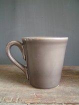 Coté Table Constance Americain mug (4 stuks) 25 cl - MASTIC beige