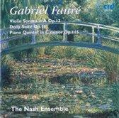 Faure: Violin Sonata, Dolly Suite, Piano Quintet no 2 / The Nash Ensemble