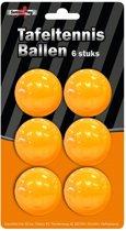 Tafeltennisballen - Oranje - 6 stuks