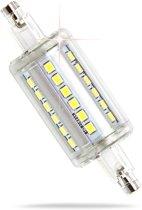5W R7s LED buislamp 78mm warm wit