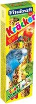 Vitakraft Parkietkracker 2 in 1 Fruit - 2 St à 16 gr - Vogelsnack