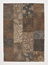 Chester vloerkleed - Taupe - 200x200 cm