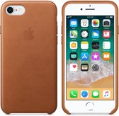 Apple Lederen Back Cover voor iPhone 7/8 - Bruin