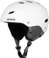 Sinner Bingham Junior Skihelm - Wit - Maat S/56 cm