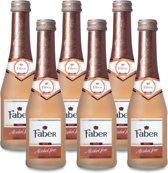 Faber Sparkling Rosé Alcoholvrij - 20 cl x6 (Doos)