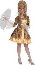 Middeleeuwen & Renaissance Kostuum | Gouden Barok Dame | Vrouw | Maat 44-46 | Carnaval kostuum | Verkleedkleding