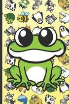 Frog Animal Party Notebook