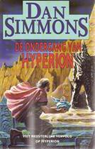 Boek cover De ondergang van Hyperion van Dan Simmons