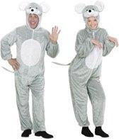 Muis & Rat Kostuum | Pluche Muis Sweet Mouse | Volwassen | Medium / Large | Carnaval kostuum | Verkleedkleding