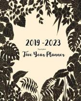 2019-2023 Five Year Planner- Tropical Plants