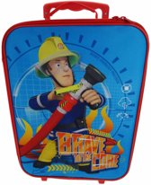 Brandweerman Sam - Kinderkoffer - 40 cm - Blauw