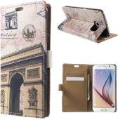 Triumphal Arch wallet case Samsung Galaxy S6 Edge